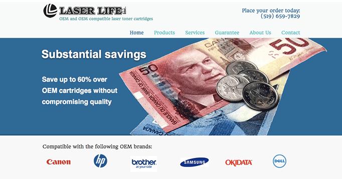 Laser Life Website
