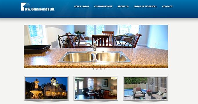 Digital Marketing for B.W. Conn Homes