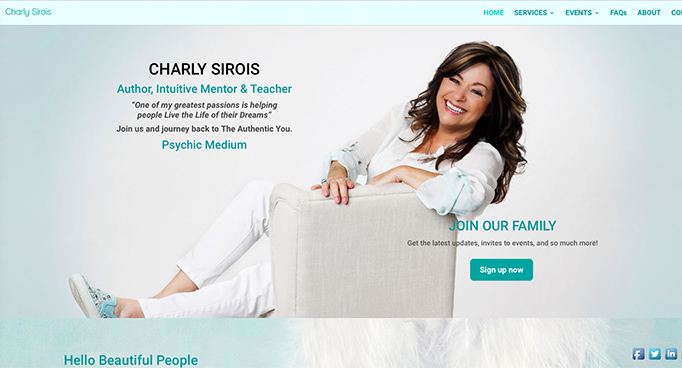 Digital Marketing for Charly Sirois