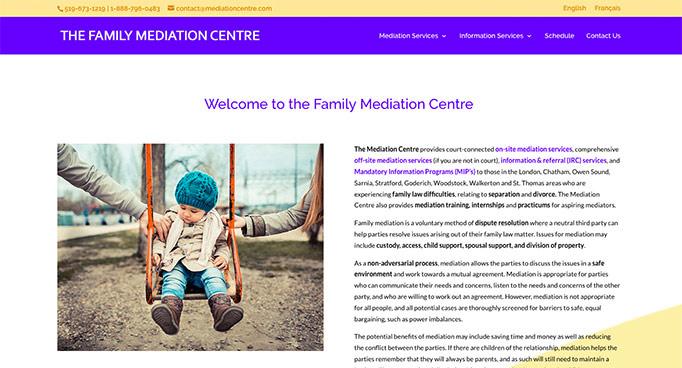 Digital Marketing for The Mediation Centre