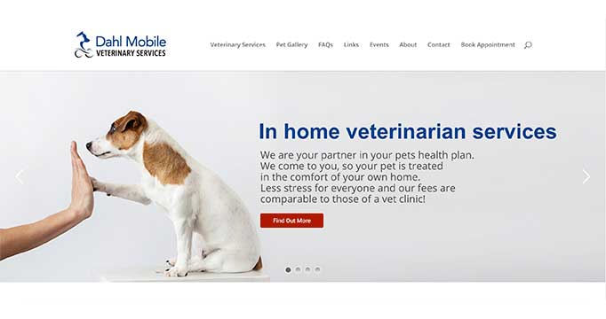 Digital Marketing for Dahl Mobile Veterinary Services