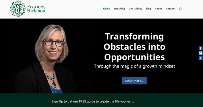 Digital Marketing for Frances Hickmott