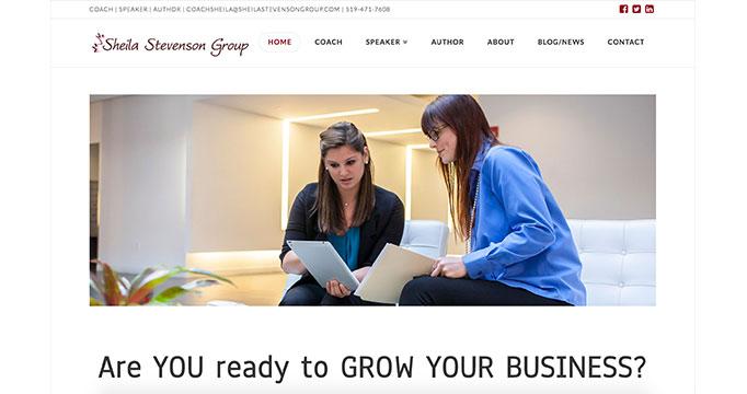 Digital Marketing for Sheila Stevenson Group