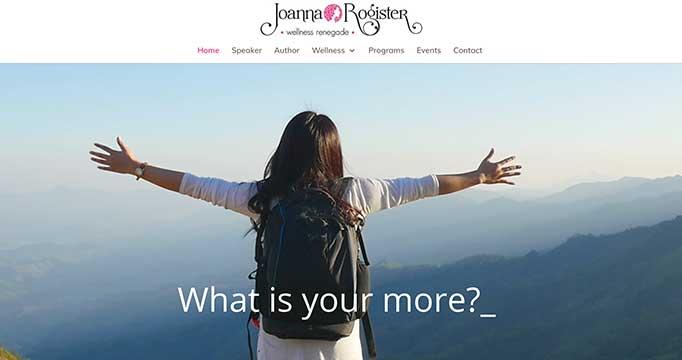 Digital marketing for Joanna Rogister