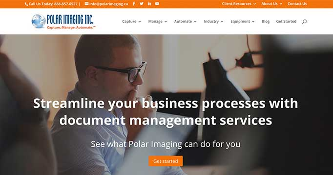 Digital Marketing for Polar Imaging
