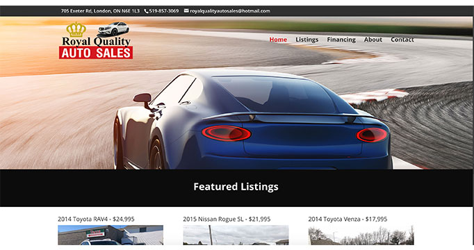Digital Marketing for Royal Quality Auto Sales