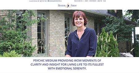 Beatrix Enter website design